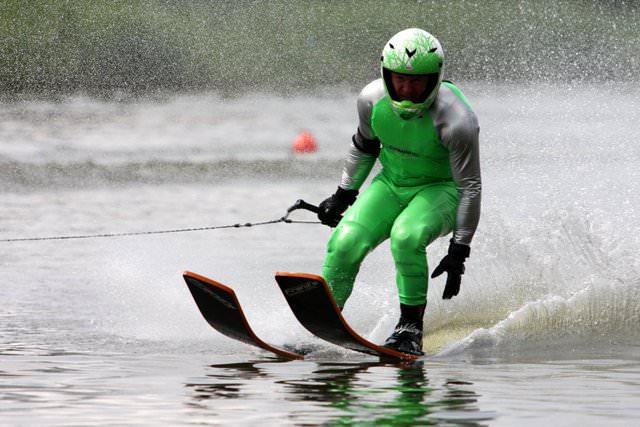 Владимир Рянзин - финалист Чемпионата Европы 2008 по водным лыжам