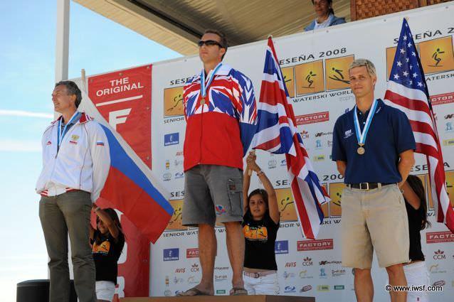 Александр Мистрюков (Россия) стал серебряным призером Чемпионата мира 2008 среди ветеранов