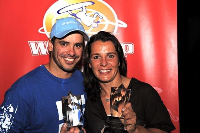 Freddy Krueger (США) и Angeliki Andriopoulou (Греция) - победители Кубка мира 2008 по водным лыжам