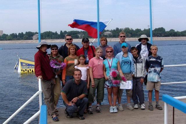 Сборная Уральского воднолыжного центра