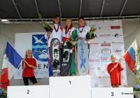 Наталья Бердникова (I), Marion Mathieu (II) и Татьяна Чуракова (III) - победительницы Чемпионата Европы
