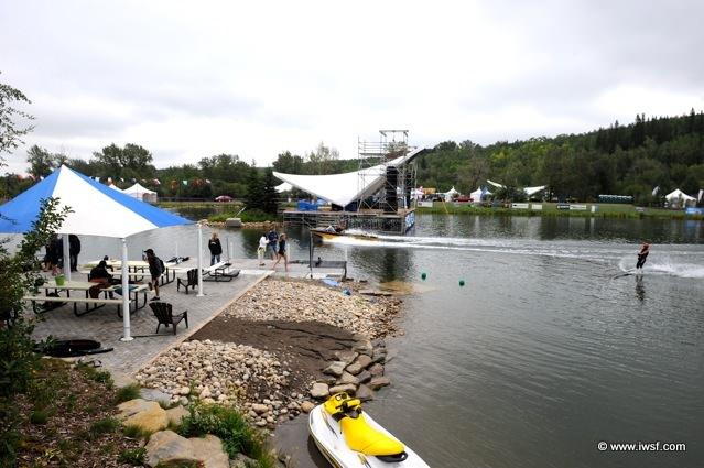 Чемпионат мира 2009 по водным лыжам в Канаде, день 1