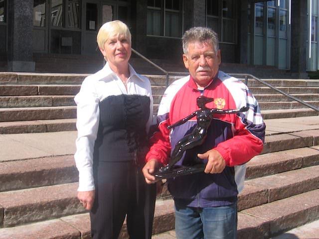 Галина Николаевна Литвинова и Юрий Леонидович Нехаевский (фото Веры Федоровой)