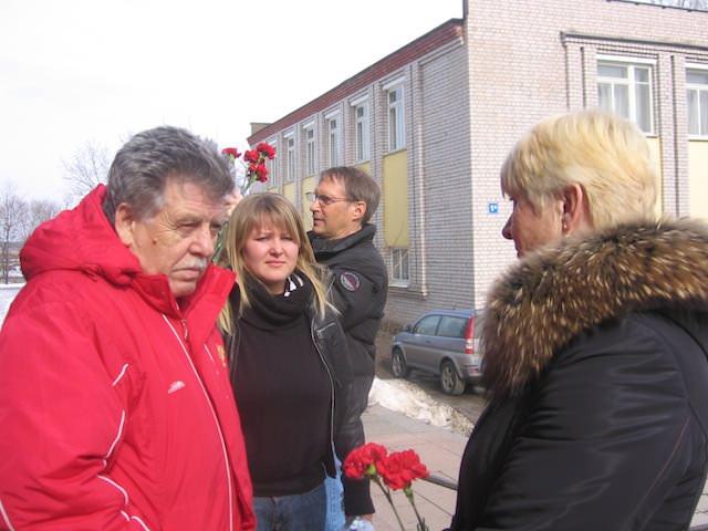 Юрий Леонидович Нехаевский, Ольга Травкина и Галина Литвинова (фото Веры Федоровой)