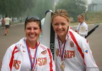 Татьяна Чуракова и Ксения Комарова