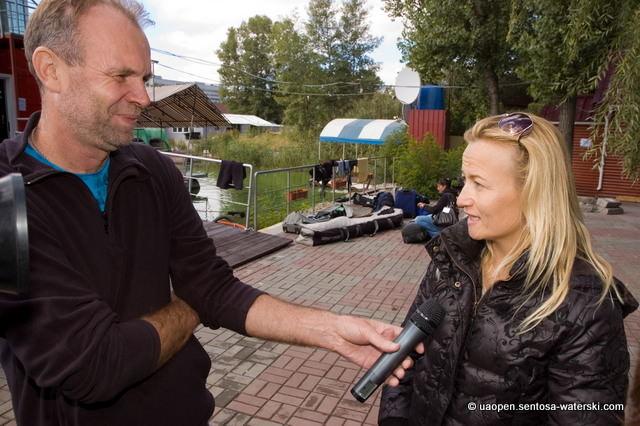 Лучший прыжок предварительного круга Ukraine Open 2010 - у June Fladborg
