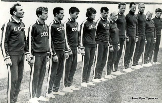 1967 - Первая международная встреча советских воднолыжников