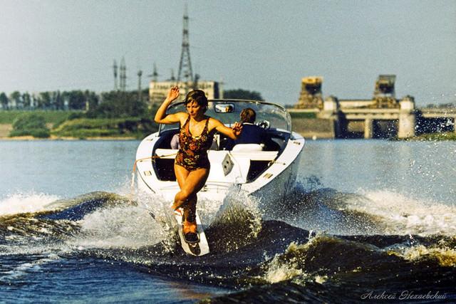 Марина Чересова (Дубна) - первая советская рекордсменка Европы