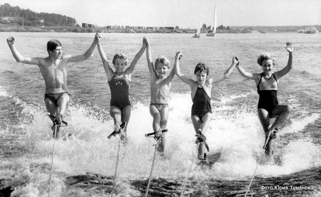 Новое поколение дубненских воднолыжников