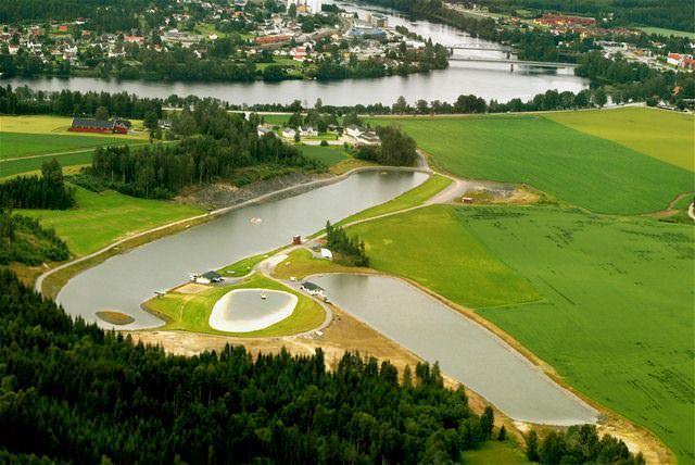 Скарнес (Норвегия) - место проведения Чемпионата Европы 2011 по водным лыжам