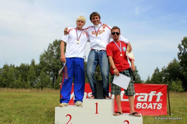 Подиум Первенства России 2011 в многоборье среди юношей до 21 года