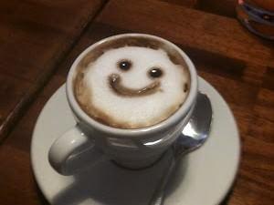 Улыбающийся кофе