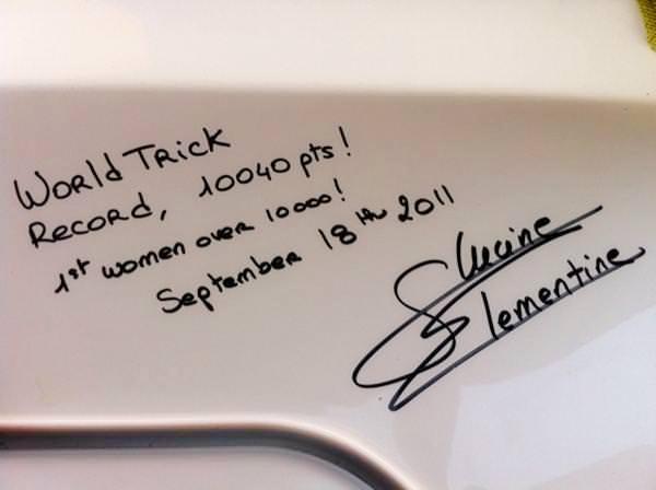 Clementine Lucine: Заявка на рекорд мира в фигурах (10040 очков)