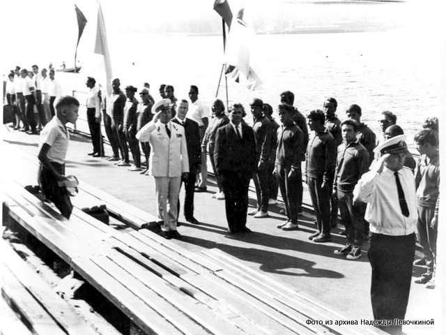 Парад открытия первого чемпионата СССР