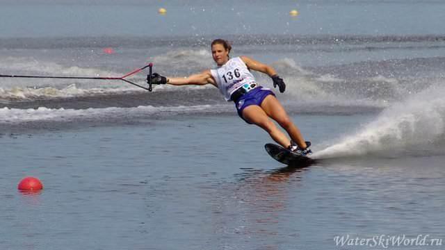 Реджина Джеквис - рекордсменка мира в слаломе