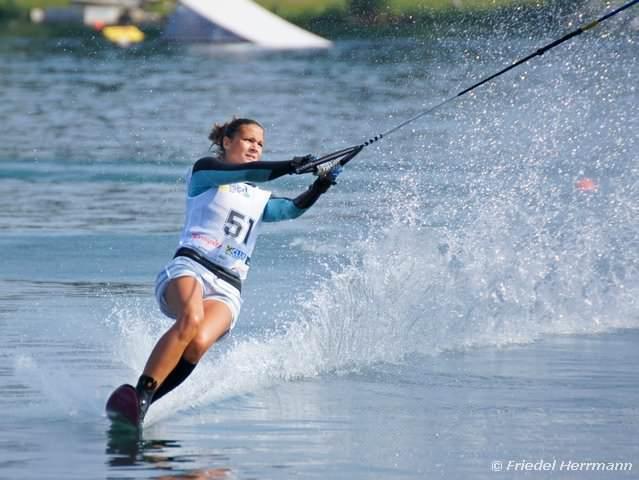 Мария Бирюкова - Чемпионка России в слаломе