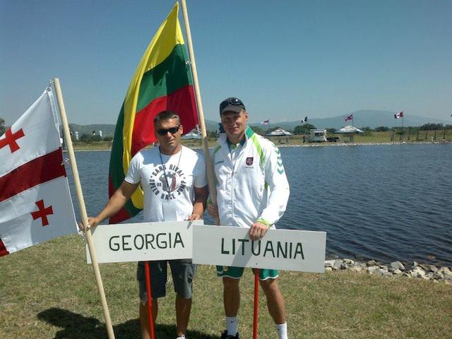 Геннадий Гуралия (Грузия) и Рикардас Лажинскас (Литва) | Photo by Ricardas Lazinskas