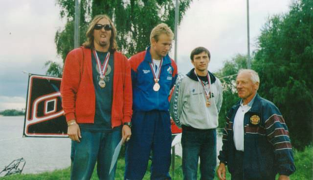 Игорь Морозов (слева) и Владимир Рянзин (в центре) ведут борьбу за лидерство на протяжении многих лет