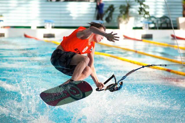 XI Международный турнир по воднолыжному спорту памяти Николая Генова (фото Василия Кононова)