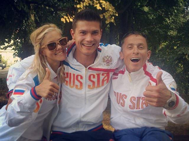 Анна Бузина, Алексей Морозов и Андрей Алентьев (фото Андрея Трукова)