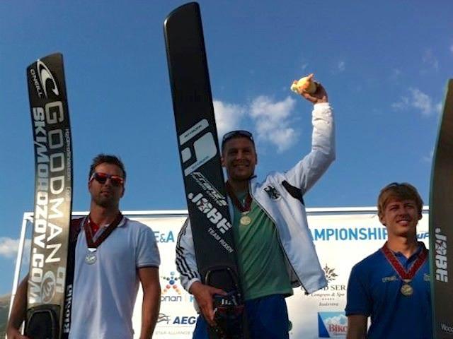 Игорь Морозов - серебряный призер Чемпионата Европы (фото Stokes Skis)