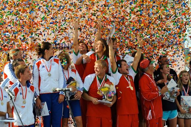 Чемпионат мира 2011 в Дубне, золото - у команды Беларуси (фото Des Burke-Kennedy)