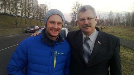 Владимир Генов и Алексей Жерносек (фото Аркадия Генова)