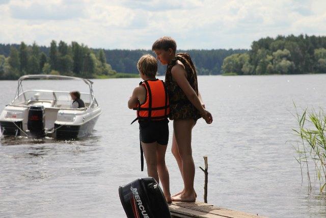 В воднолыжном лагере ФИРАН - ИОФРАН (фото со странички ВКонтакте)