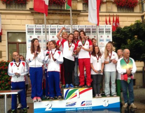 Команда Беларуси - победитель Кубка Европы 2014 (фото из ФБ Наталии Бердниковой)