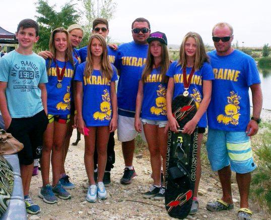 Команда Украины (фото Анны Просветовой)