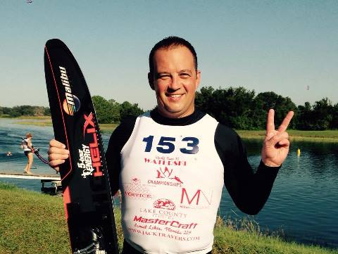 Андрей Мотов установил личный рекорд в слаломе