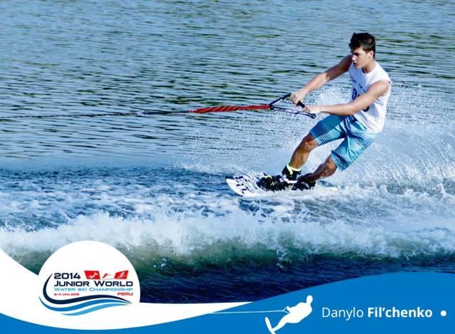 Чемпион мира 2014 среди юниоров Данил Фильченко (фото Mundial Juvenil de Esquí Acuático 2014)