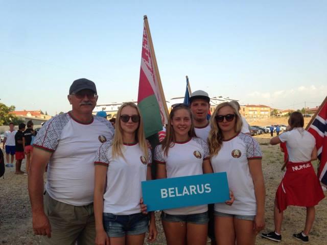 Команда Беларуси - серебряный призер чемпионата мира до 21 года