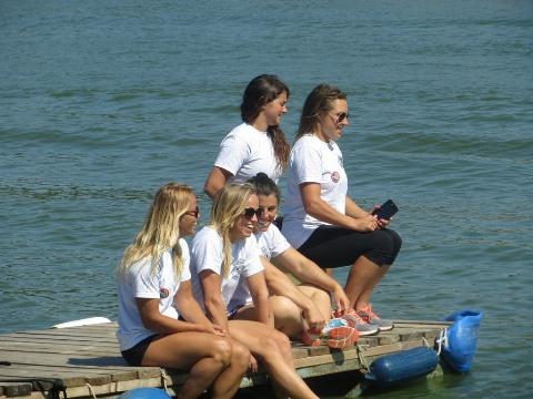 Сильнейшие воднолыжницы мира - участницы Мемориала