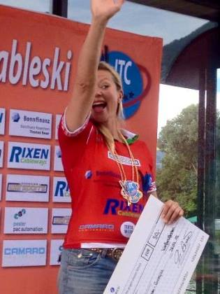 Юлия Мейер-Громыко - чемпионка в фигурном катании              (фото из ФБ спортсменки)