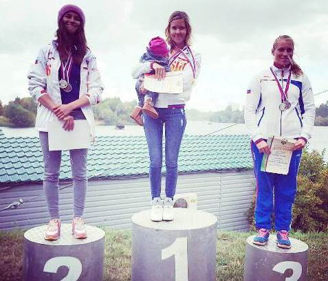 Возвращение чемпионки: Анна Трукова на верхней ступеньке подиума (фото из ФБ спортсменки)