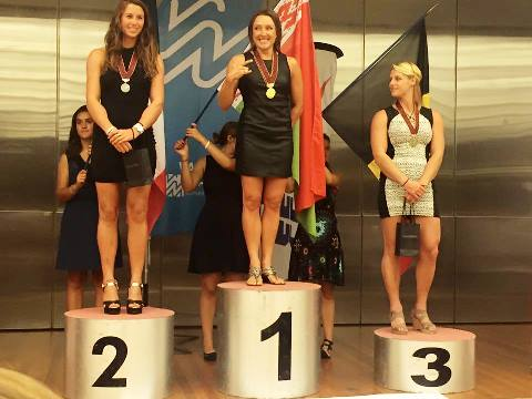 Наталия Бердникова - дважды чемпионка Европы 2015 (фото из ФБ спортсменки)