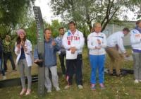 Чемпион Европы и России 2015 в прыжках с трамплина за катером Владимир Рянзин выиграл и титул чемпиона страны за электротягой (фото из ФБ Наталии Рянзиной)