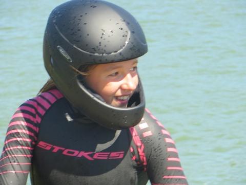 София Максименкова - автор нового европейского достижения в прыжках с трамплина у девушек до 14 лет (фото автора)