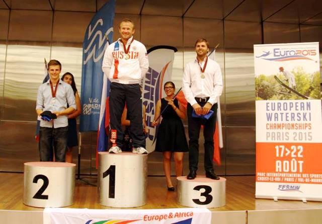 Владимир Рянзин - чемпион Европы 2015 (фото со странички EURO 2015 в ФБ)