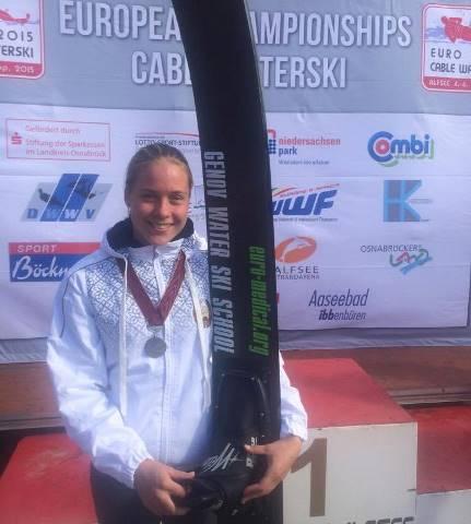 Чемпионка Европы 2015 в многоборье Анна Стрельцова (фото Наташи Геновой)