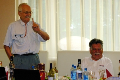 Дмитрий Васильевич Ширков на 70-летии Юрия Леонидовича Нехаевского. Фото Алексея Нехаевского