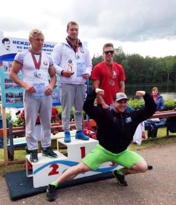 Чемпион в прыжках с трамплина у мужчин Степан Шпак, призеры Александр Исаев и Артем Морозов