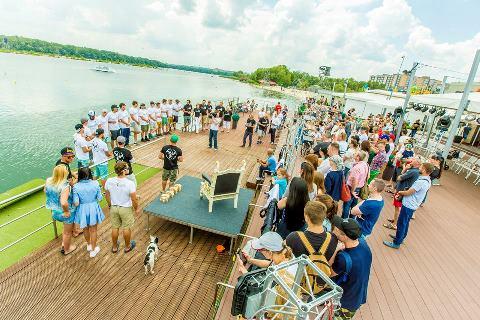 Парад участников. Фото Глеба Добарина
