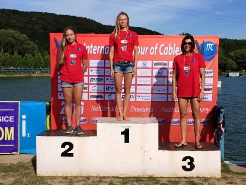 Катюша Киселева, Анна Стрельцова, Ирина Турец - таким был подиум в фигурном катании и многоборье у женщин. Фото ITC