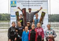 Звезды и молодежь - на чемпионате Московской области. Фото Анны Шаховой