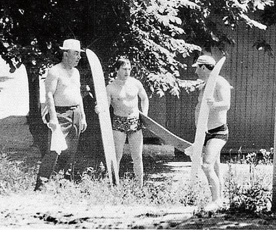 Владимир Высоцкйи с друзьями в станице Мелиховской, 1971. Фото Александра Лагутеева