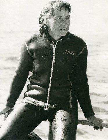 Первая чемпионка СССР Татьяна Рожкова. Фото из архива Ю.Л. Нехаевского