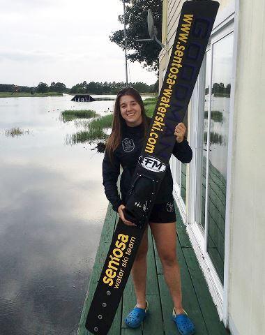Вице-чемпионка мира до 17 лет и рекордсменка Украины София Максименкова. Фото из ФБ спортсменки