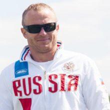 Владимир Рянзин - рекордсмен России в прыжках с трамплина. Фото Маргариты Забродской
